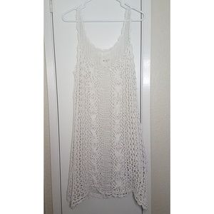 Intimately Free People Crochet Lace Cover Up